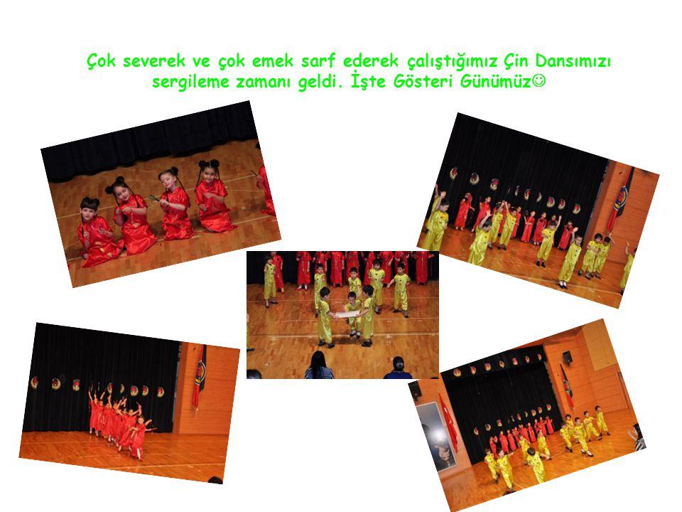 Çok severek ve çok emek sarf ederek çalıştığımız Çin Dansımızı sergileme zamanı geldi. İşte Gösteri Günümüz 