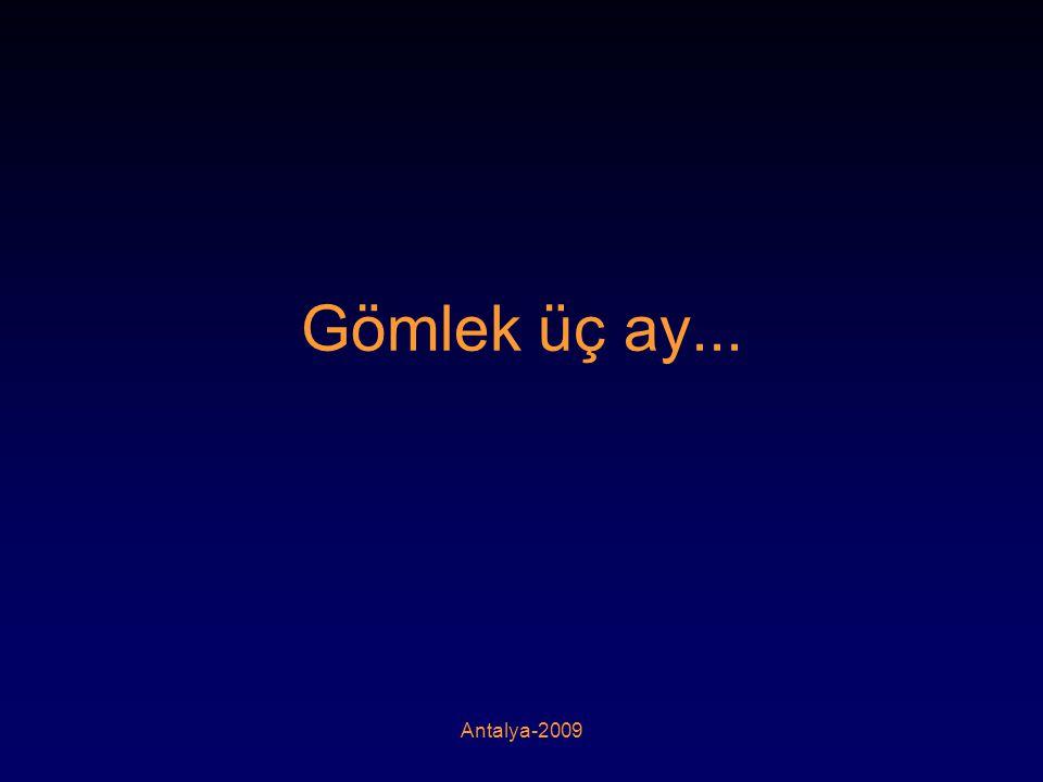 Antalya-2009 Gömlek üç ay...