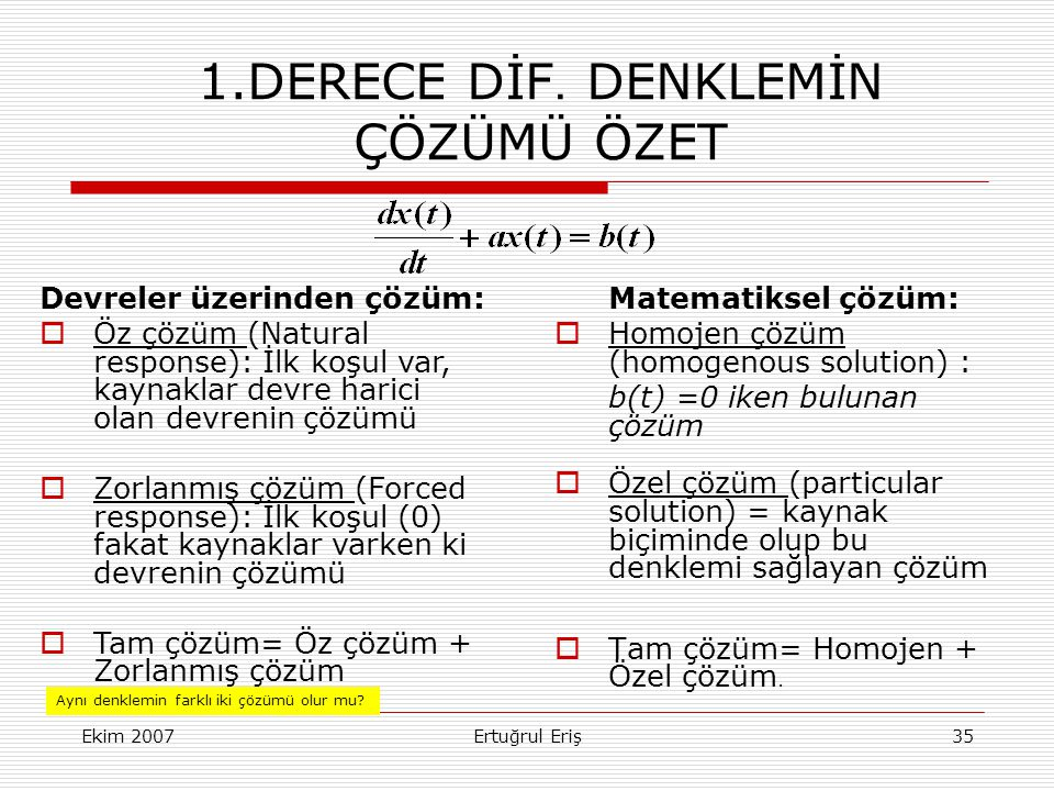 Ekim 2007Ertuğrul Eriş35 1.DERECE DİF.