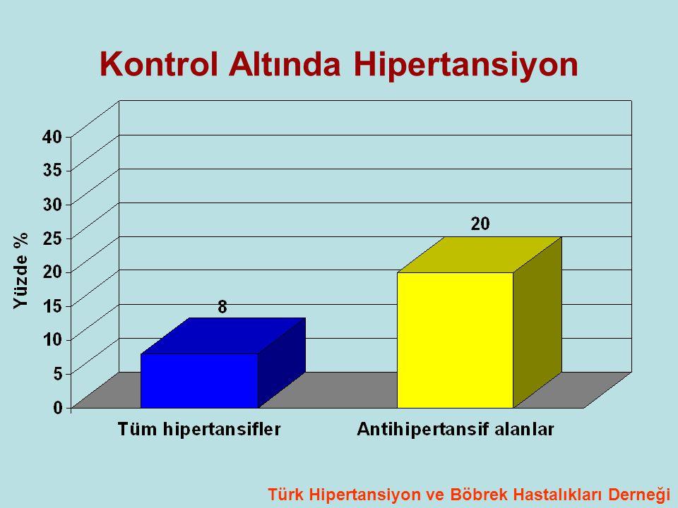 Kontrol Altında Hipertansiyon Türk Hipertansiyon ve Böbrek Hastalıkları Derneği