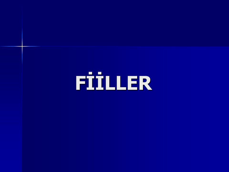  Anlamca Kaynaşmış Birleşik Fiiller Bir isimle bir fiilin anlam yönünden birleşip kaynaşmasıyla oluşur.