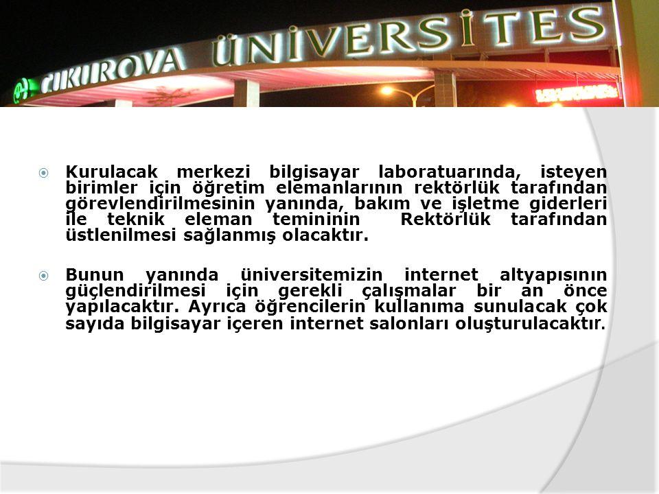  KONYA Selçuk Üniversitesi bünyesinde bulunan ve Türkiye'nin en büyük bilgisayar merkezi olma özelliğini taşıyan