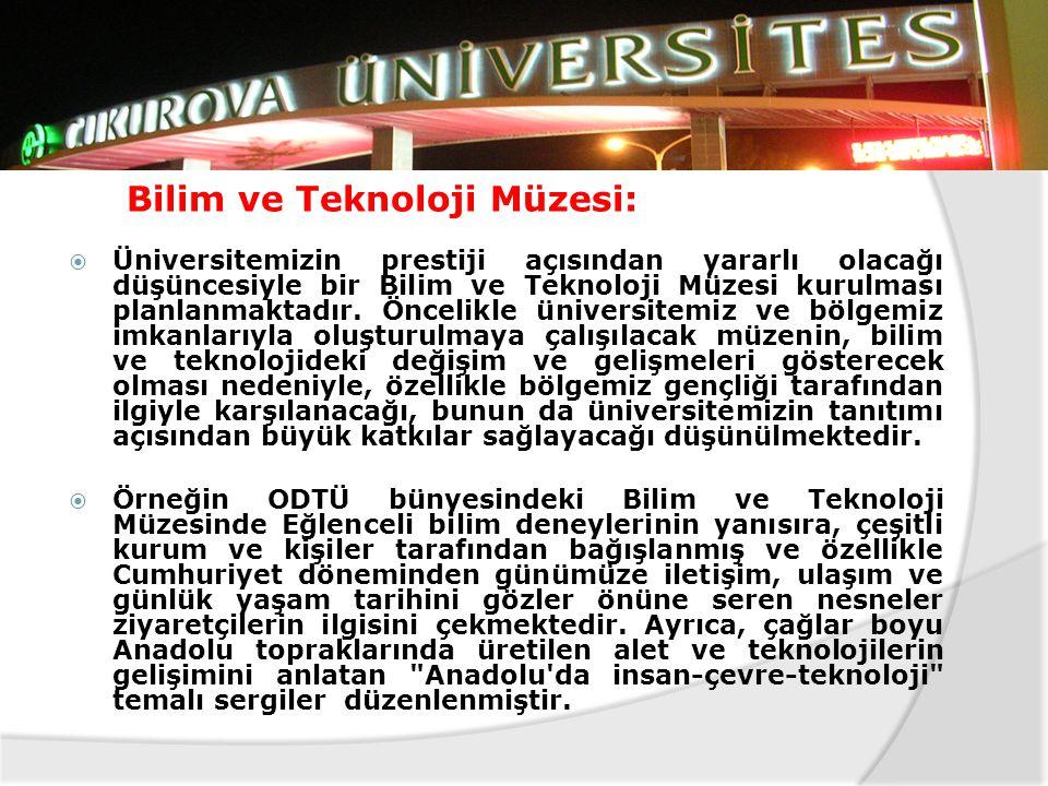  Adana-Çukurova Bölgesinin son yıllarda görülen ekonomik anlamdaki durgunluğuna çözüm olabilmek için, yeni yatırımları yönlendirerek, istihdamı artır