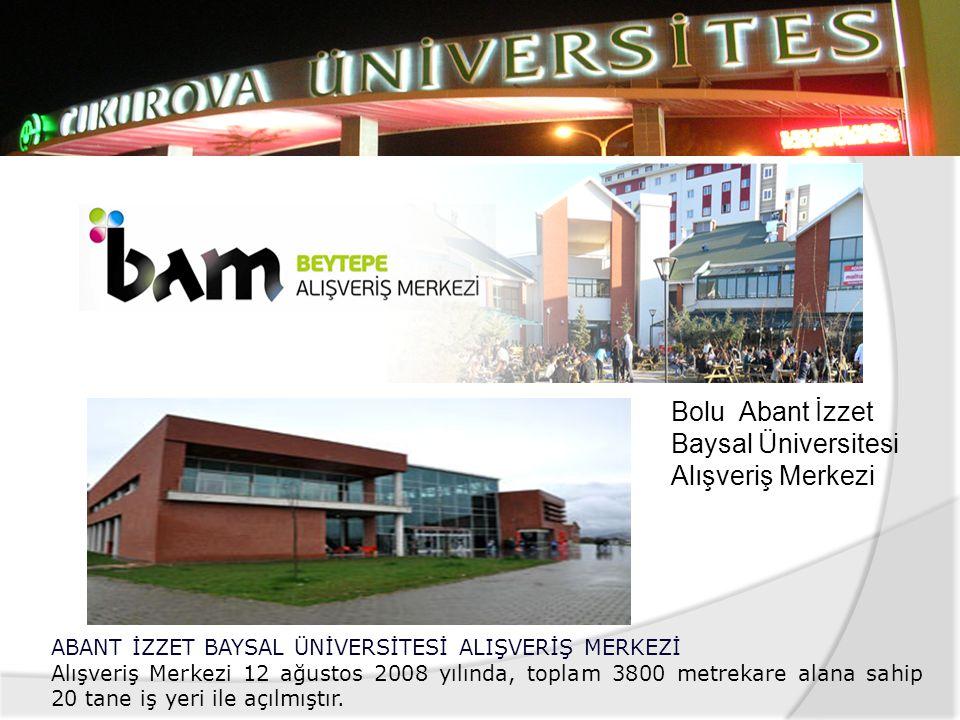  Ondokuz Mayıs Üniversitesi Öğrenci ve Yaşam Merkezinde öğrenci ve personel yemekhaneleri, kiralanabilir çarşı birimleri, sinema ve bowling salonları
