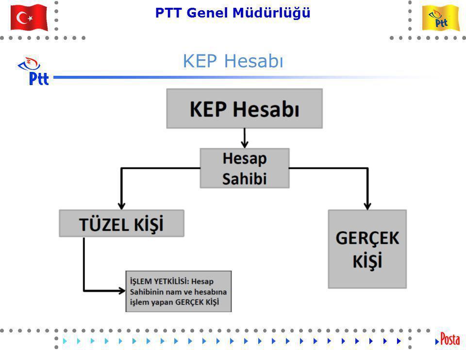 30 PTT Genel Müdürlüğü Teknik İşler ve Otomasyon Dairesi Başkanlığı KEP Hesabı
