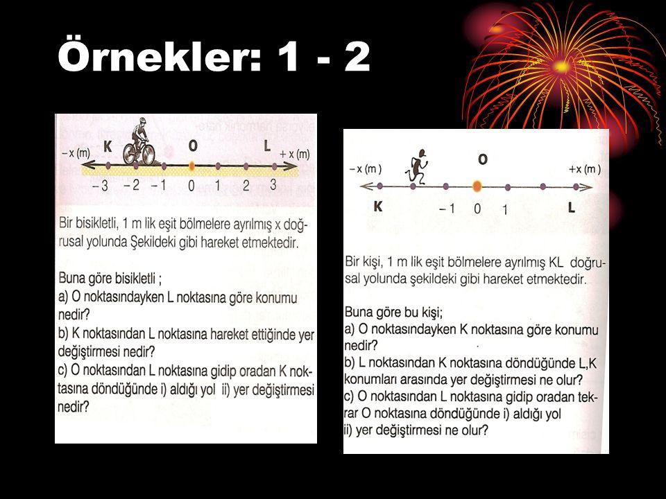 Örnekler: 1 - 2