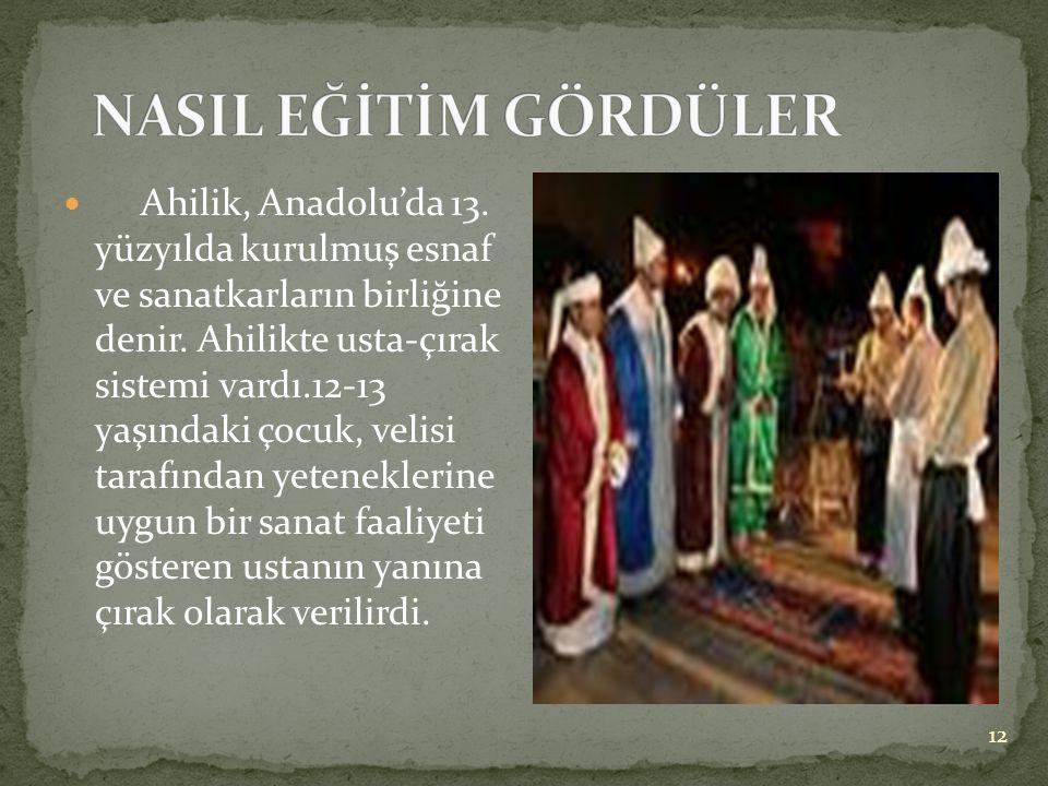  Tarih boyunca varlıklı Türkler, toplumsal dayanışma ve yardımlaşmaya katkı sağlamak amacıyla vakıflar kurmuşlardır. Her yıl mayıs ayının ikinci haft