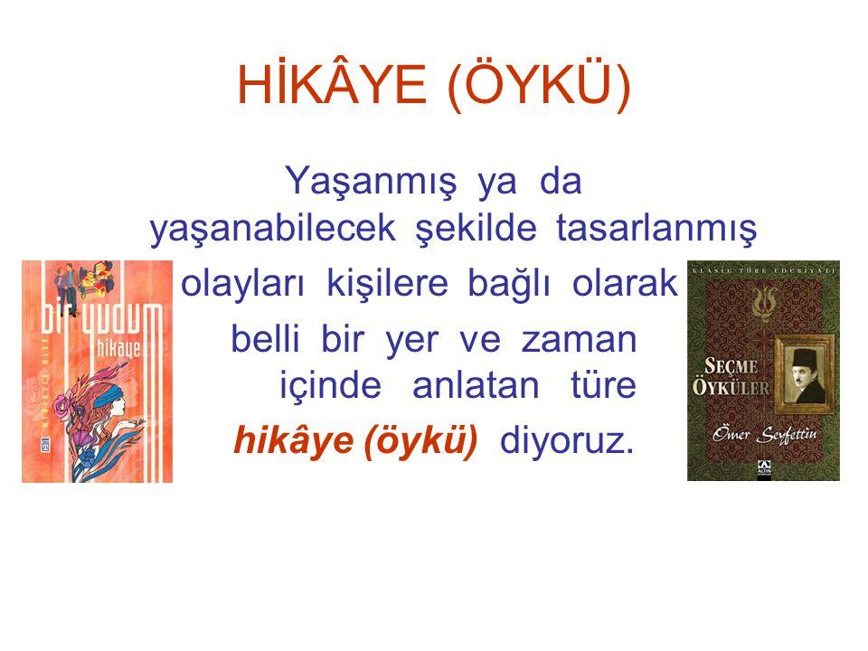 HİKÂYE (ÖYKÜ) Sevcan ÖZDEN Sultanahmet Anadolu Teknik, Anadolu Meslek ve Endüstri Meslek Lisesi Müdür Yardımcısı www.edebiyatogretmeni.net