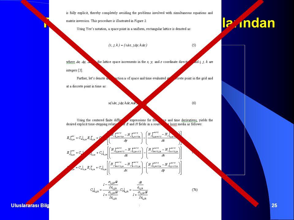 23.06.201425 Tam sayfa kitap metni alıntılarından kaçınınız! Uluslararası Bilgisayar Enstitüsü