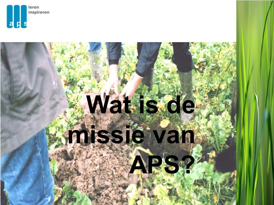 Wat is de missie van APS