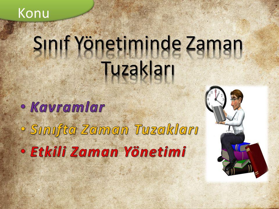• ÇELİK V., (2008), SINIF YÖNETİMİ, 4.BASKI, NOBEL YAYINLARI, ANKARA • ERDEN M.