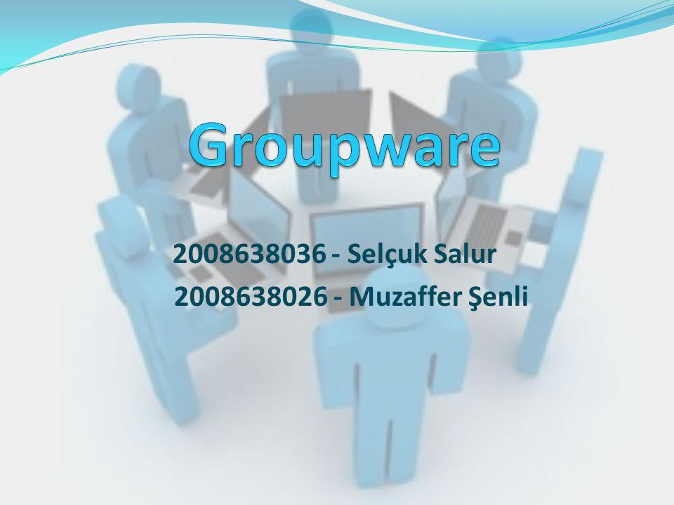 2008638036 - Selçuk Salur 2008638026 - Muzaffer Şenli