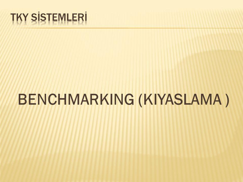 BENCHMARKING (KIYASLAMA )