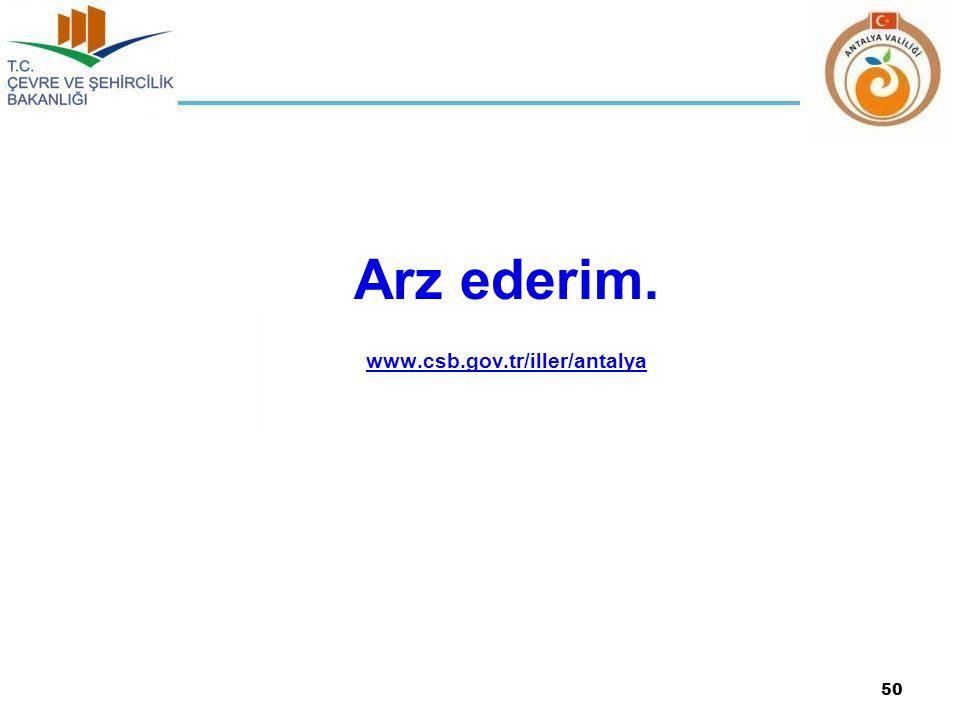 Arz ederim. www.csb.gov.tr/iller/antalya 50