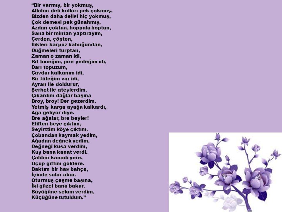 Halk Edebiyatı Çalışmaları •22.Dertli Kaval (1945), •23.