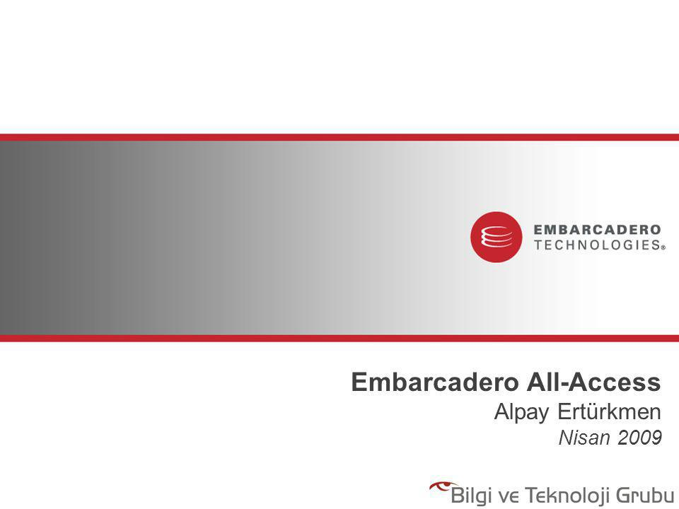 Embarcadero All-Access Alpay Ertürkmen Nisan 2009
