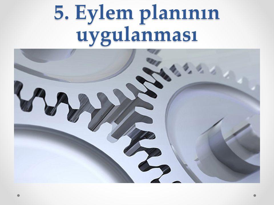 6.Sonuçların değerlendirilmesi ve paylaşılması (1) Değerlendirmeden kim sorumlu olacaktır.