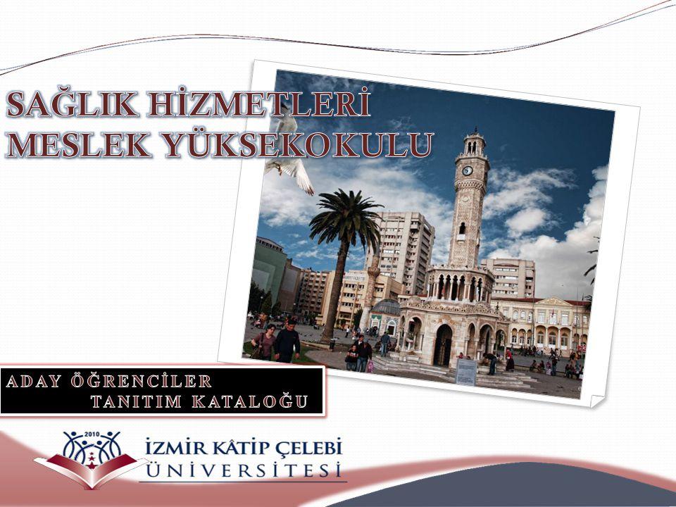 Sevgili Öğrenciler İzmir Katip Çelebi Üniversitesi Sağlık Hizmetleri Meslek Yüksekokulu ilk öğrencilerine 2013-2014 öğretim yılında kavuşmanın heyecanı içindedir.