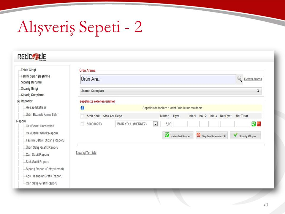 Alışveriş Sepeti - 2 24