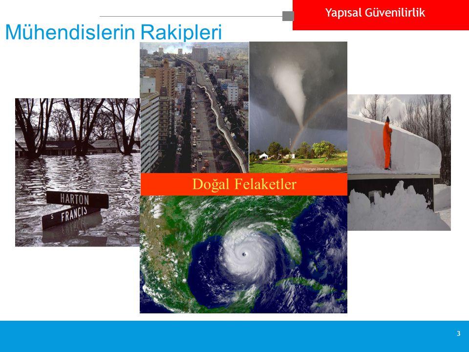 Yapısal Güvenilirlik 3 Mühendislerin Rakipleri Doğal Felaketler