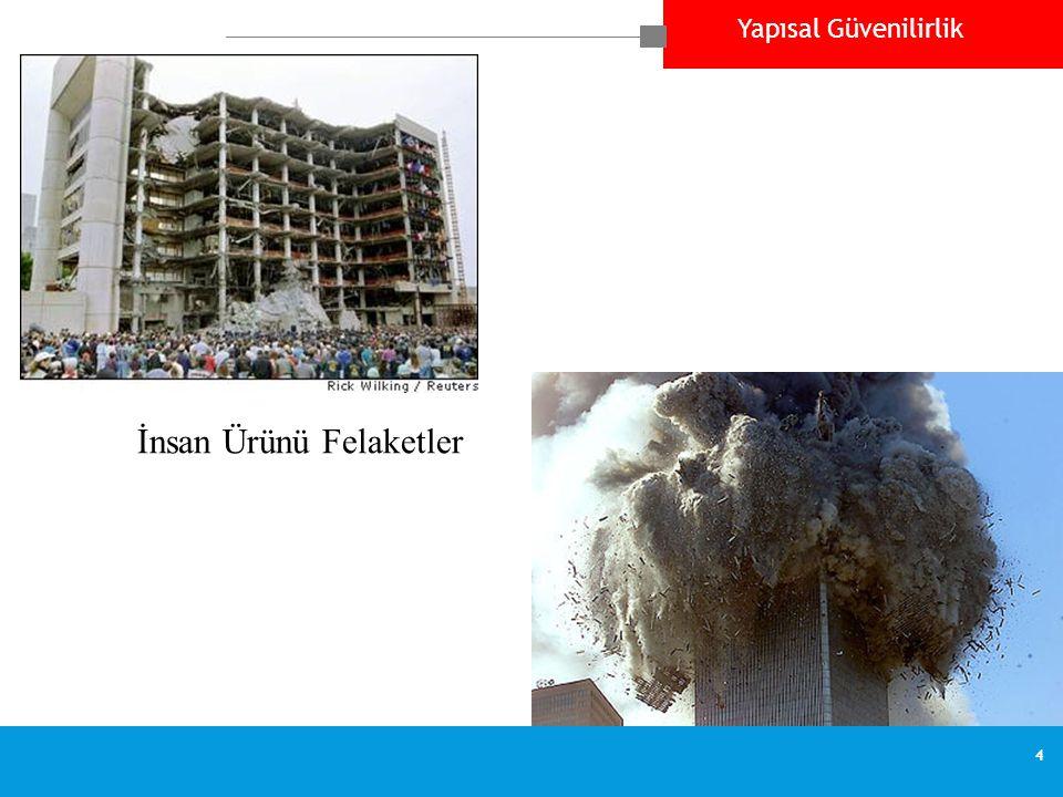 Yapısal Güvenilirlik 4 İnsan Ürünü Felaketler