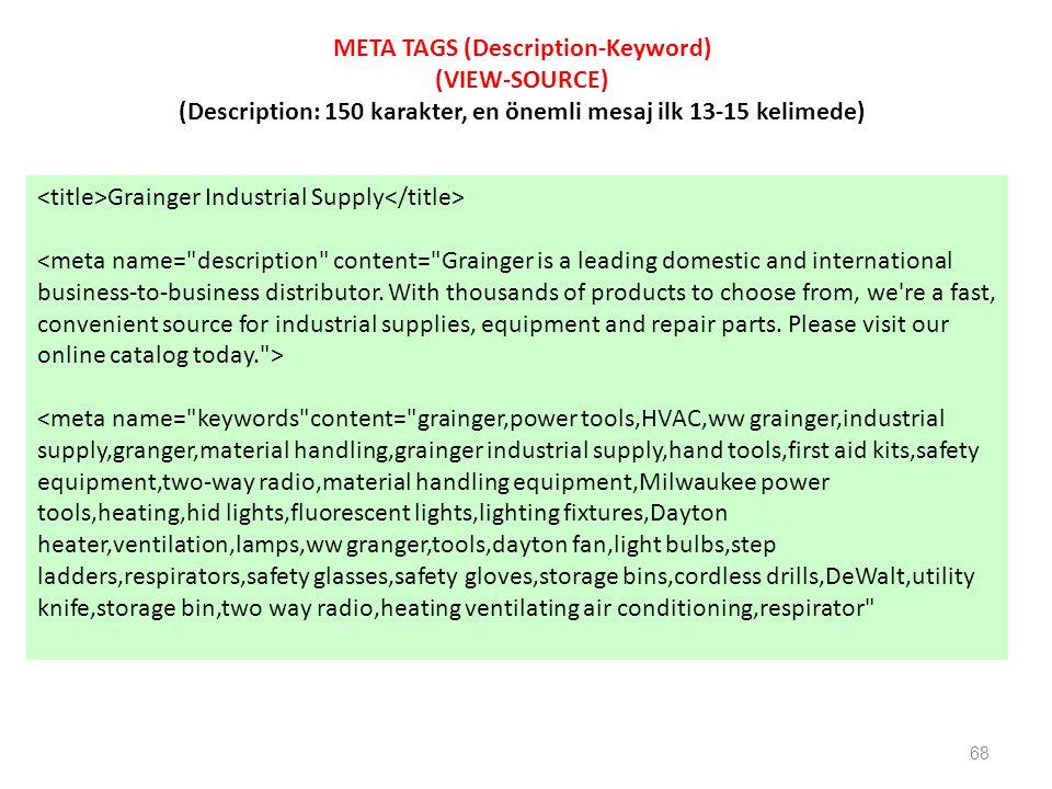 68 Grainger Industrial Supply <meta name=