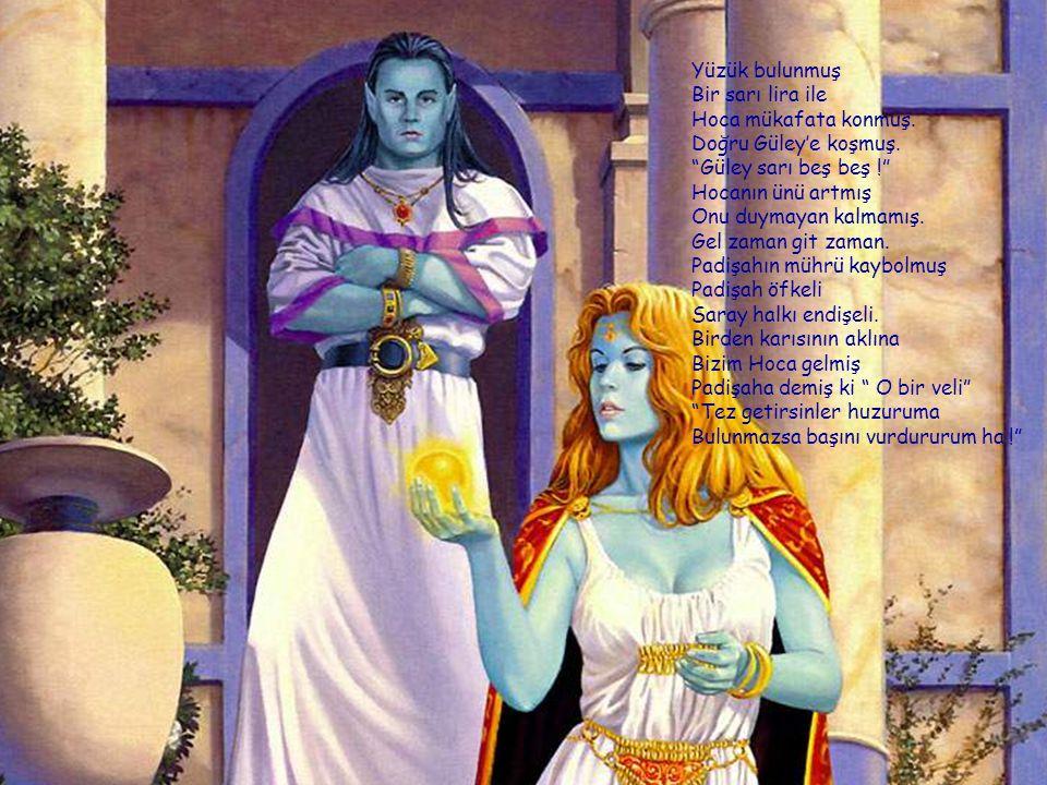 """Hamamcının aklına Bizim Hoca gelmiş """"Sultan hanım seni istiyor"""" Denilince Hocaya Hoca altına kaçırmış """"Eyvah çıktı şimdi foyam Güley başımı belaya koy"""