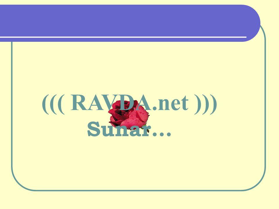 ((( RAVDA.net ))) Sunar…