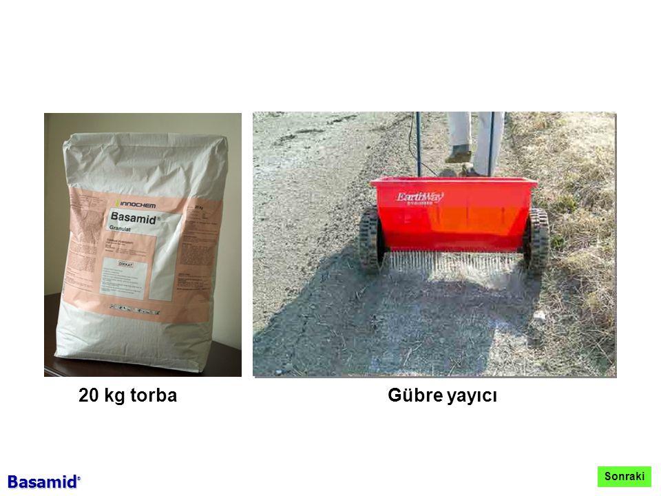 20 kg torbaGübre yayıcı