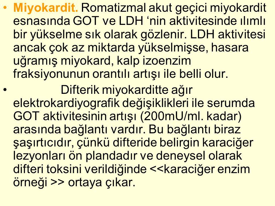•Miyokardit.