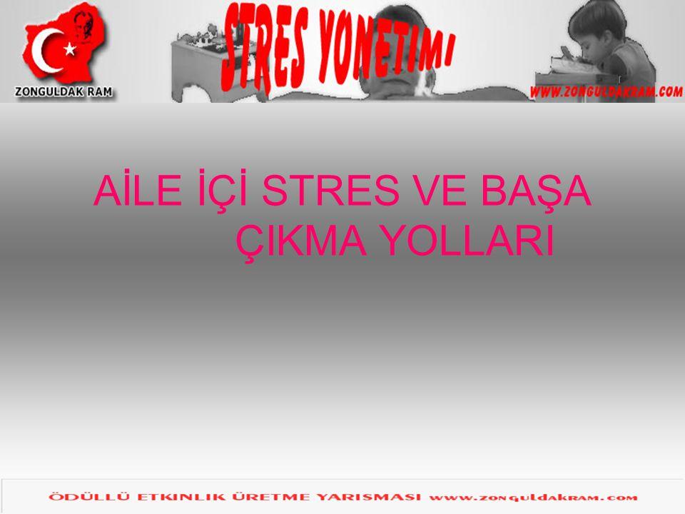 STRES NEDİR.•Stres, vücudun çeşitli içsel ve dışsal uyaranlara verdiği otomatik tepkidir.