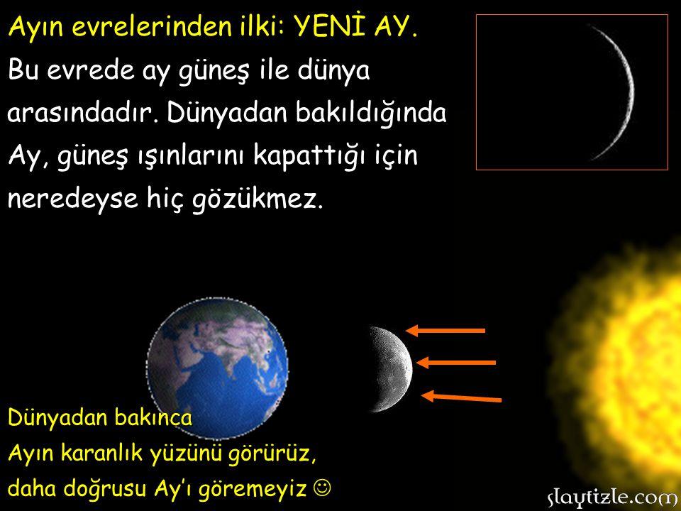 Şimdi hep birlikte niçin Ay'ın görüntüsünü sürekli farklı gördüğümüzü anlamaya çalışalım. Şimdiye kadar bu konuyu anlamadıysanız üzülmeyin, az sonra i