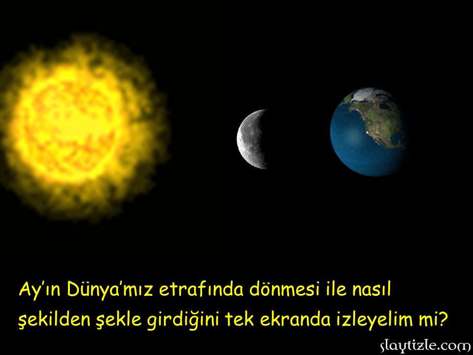 Ayın evrelerinden sonuncusu: SON DÖRDÜN. Bu evrede Ayın ışık alan yarısı Dünyadan bu şekilde izlenir…………………> Ayın evrelerinden sonuncusu: SON DÖRDÜN.