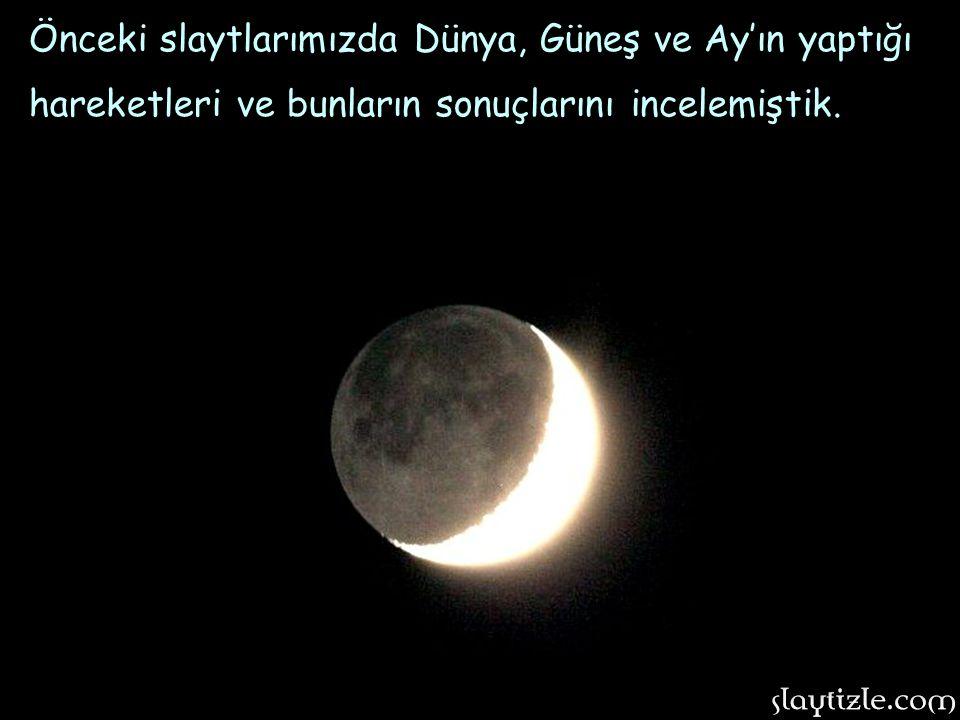 Ayın evrelerinden ikincisi: İLK DÖRDÜN.