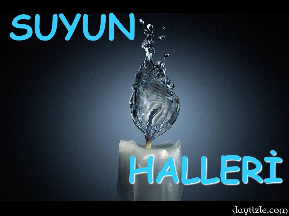 Su dünyamız için eşi bulunmaz bir maddedir.