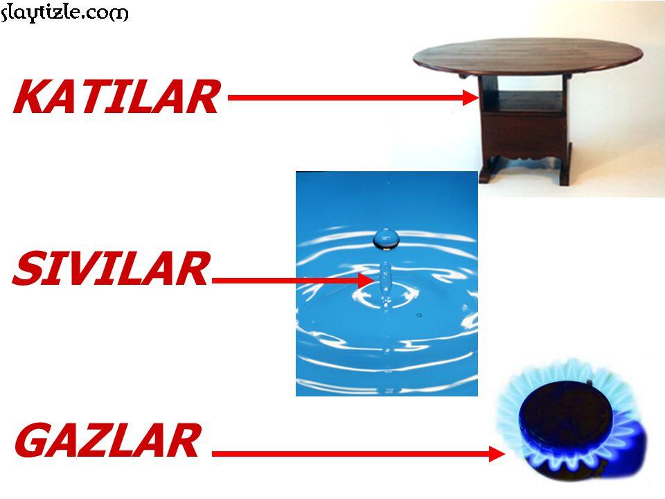 Su, maddenin üç halinde de bulunabilen ve kolayca halini değiştirebilen bir maddedir.