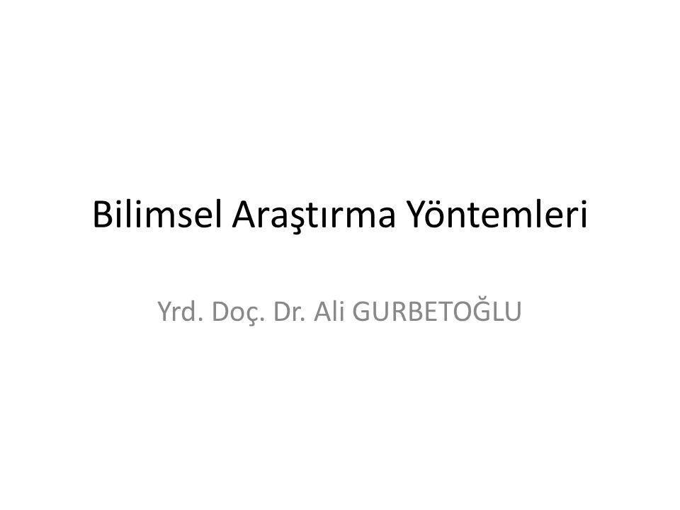 03.05.2008Yrd.Doç. Dr. Ali GURBETOĞLU42 1- Şimdiki YÖK Başkanı kimdir.