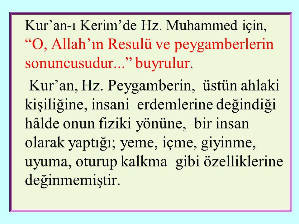 Kur'an-ı Kerim'de Hz.