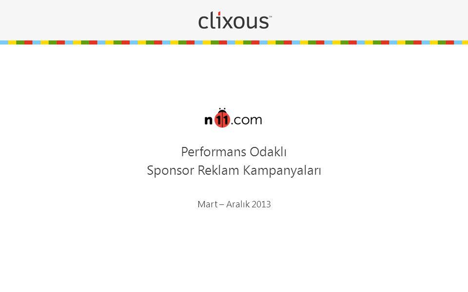 n11.com & Clixous E-perakende alanında pazar lideri olmayı hedefleyen n11.com 20 Mart 2013'de internet kullanıcılarıyla buluşmasından yaklaşık 3 ay önce performans bazlı pazarlama alanında çözüm ortağı olarak Clixous ile ilerlemeyi seçerek Google AdWords, SEO, Web Analytics ve Dönüşüm Optimizasyonu alanlarında çalışmaya başladı.