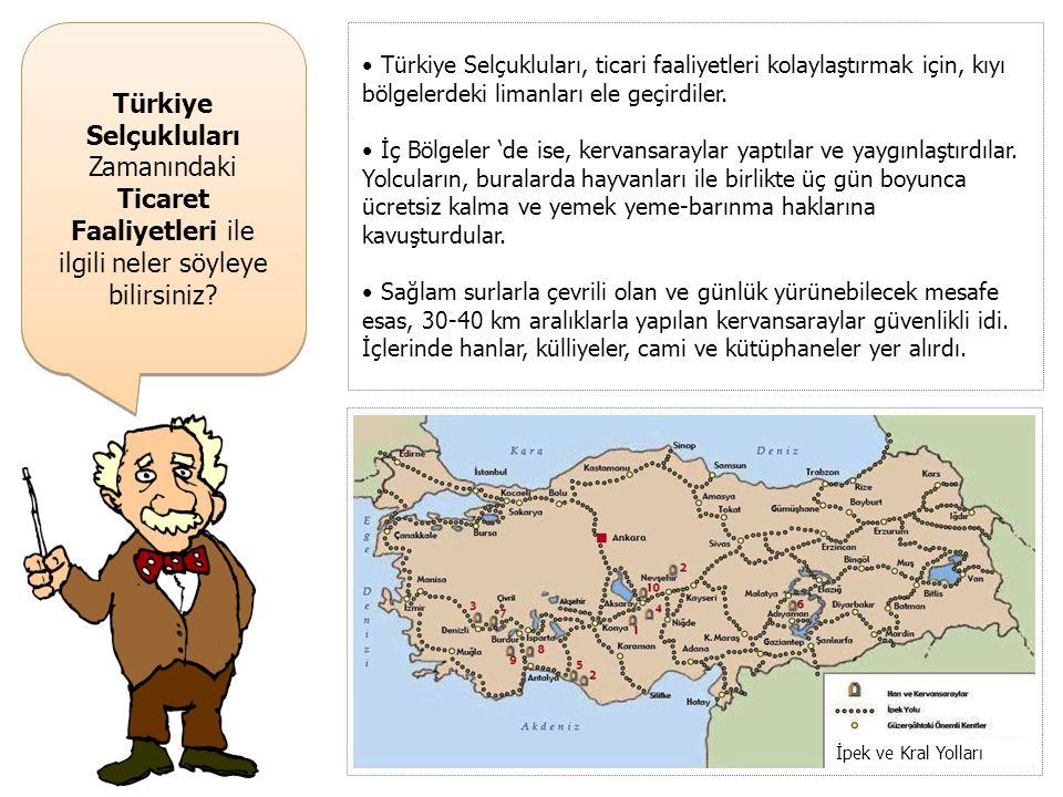Türkiye Selçukluları Zamanındaki Eğitim Faaliyetleri ile ilgili neler söyleyebilirsiniz? • Türkiye Selçuklu Devleti'nde medreselerde eğitim ücretsizdi