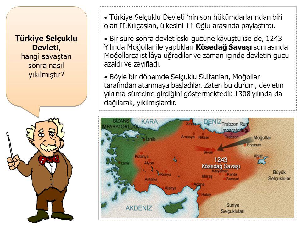 Türkiye Selçuklu Devleti, ile Harzemşahlar hangi savaşı yapmışlardır? Türkiye Selçuklu Devleti, ile Harzemşahlar hangi savaşı yapmışlardır? Moğollarda