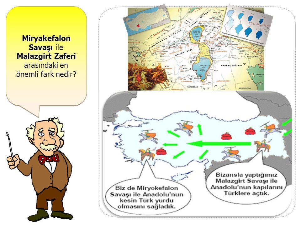 Türkiye Selçuklu Devleti Dönemi'nde yapılan en önemli savaş hangisidir? MİRYAKEFALON SAVAŞI (1176) ---------------------------------------------------