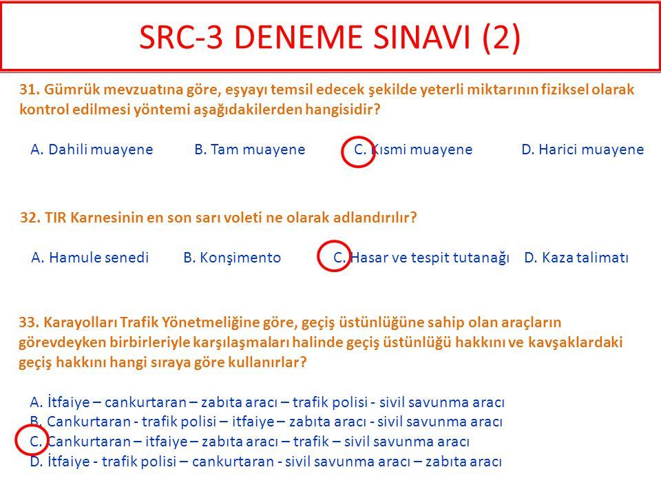 33. Karayolları Trafik Yönetmeliğine göre, geçiş üstünlüğüne sahip olan araçların görevdeyken birbirleriyle karşılaşmaları halinde geçiş üstünlüğü hak
