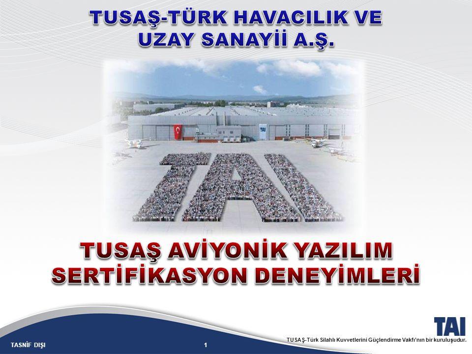 1TASNİF DIŞI TUSAŞ-Türk Silahlı Kuvvetlerini Güçlendirme Vakfı'nın bir kuruluşudur. 1TASNİF DIŞI TUSAŞ-Türk Silahlı Kuvvetlerini Güçlendirme Vakfı'nın
