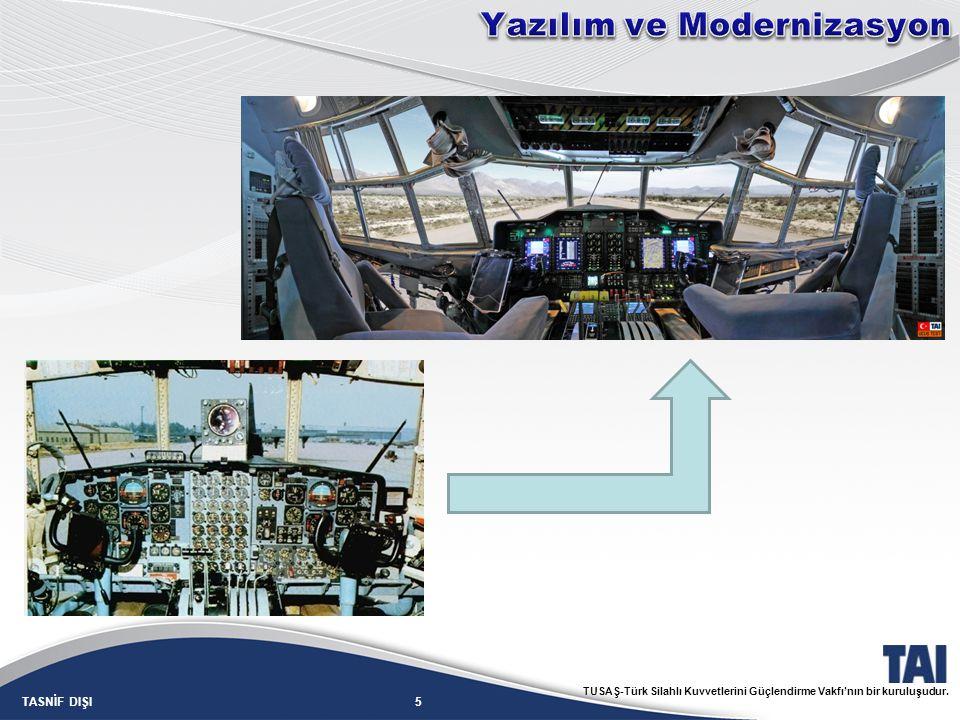 5TASNİF DIŞI TUSAŞ-Türk Silahlı Kuvvetlerini Güçlendirme Vakfı'nın bir kuruluşudur.