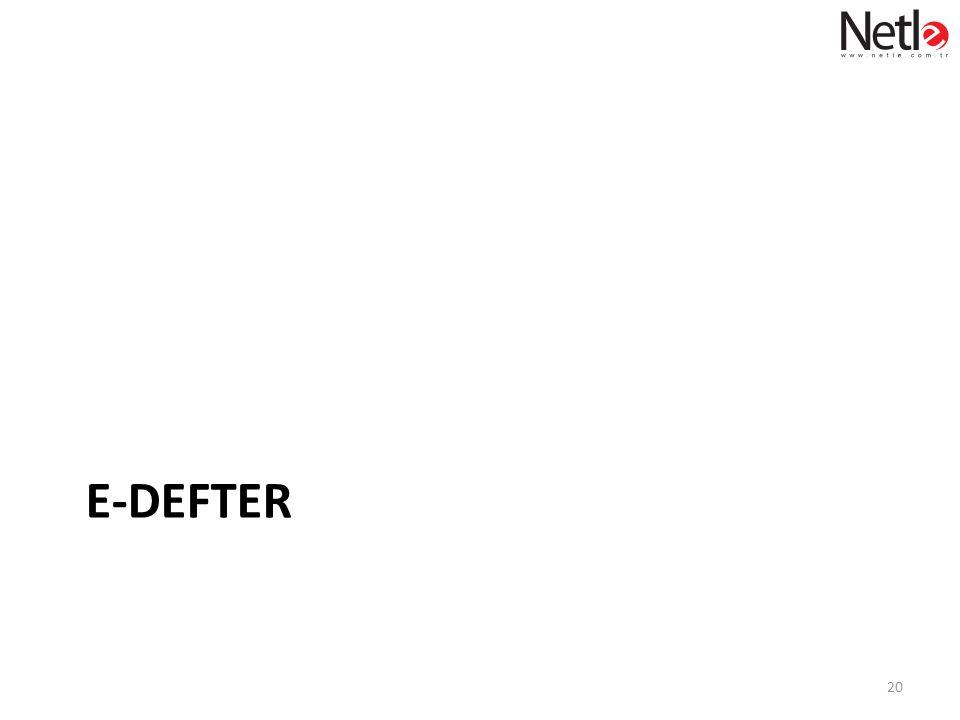 E-DEFTER 20
