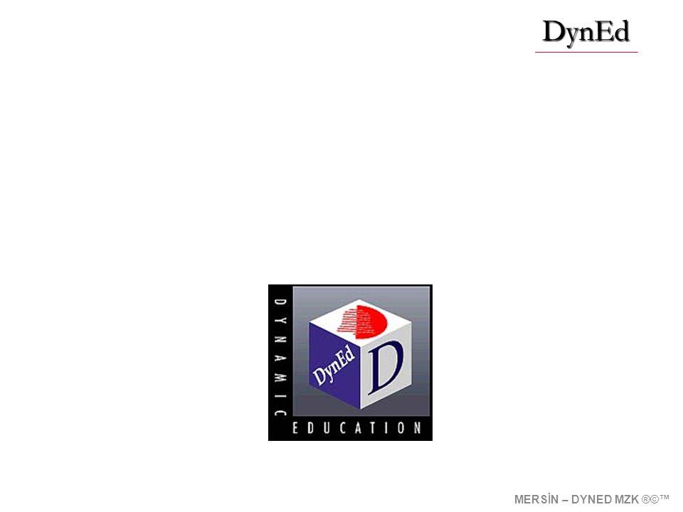 Çoklu Ortamda Etkileşimli İngilizce Eğitimi DynEd MERSİN – DYNED MZK ®©™