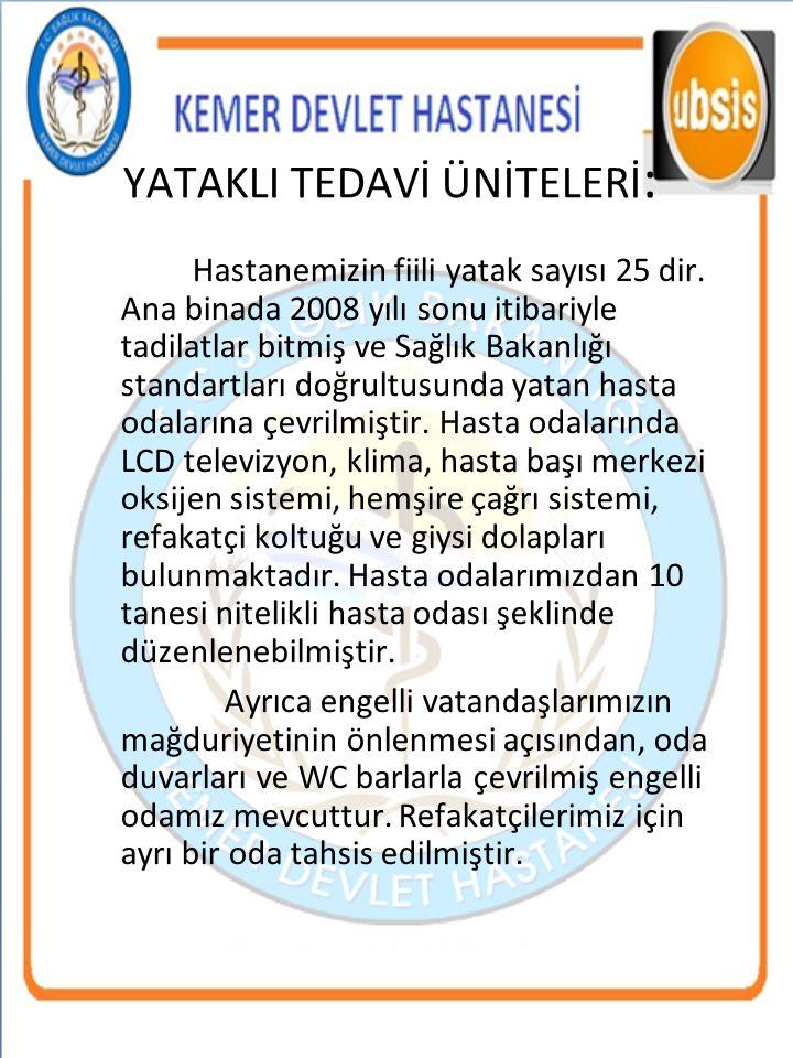 İŞİTME TARAMA TESTİ UYGULAMALARI Yıllar Doğum Sayısı 1.