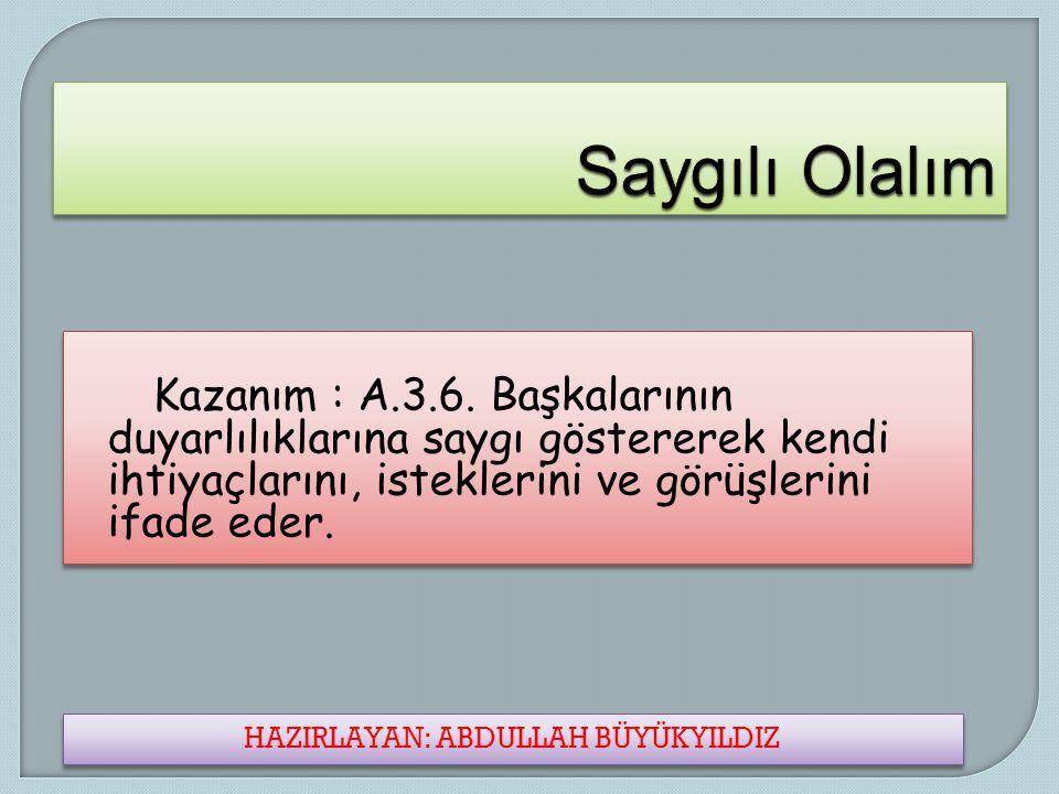 Hazırlayan Abdullah Büyükyıldız Hazırlayan Abdullah Büyükyıldız www.alsemender.com