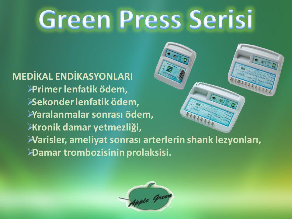 Green Vac Radyal Endodermo Tedavisi (RDT®)  Cildi sıkılaştırarak, vücut kıvrımlarını şekillendirir,  Deri kalitesinde ve yapısında iyileşme sağlar,  Deriyi gençleştirir, deri yüzeyinde pürüzsüzlük sağlar,  Yüzü sıkılaştırarak, yüzdeki kırışıklıkları açar,  Boyun ile dekoltede deri tonunu iyileştirir.
